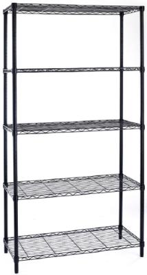 bibilothek regal expositor 5 regale mehrzweck stahl nero light ebay. Black Bedroom Furniture Sets. Home Design Ideas