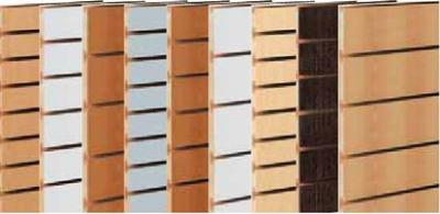 Pannelli pannello dogato legno espositore for Pannelli arredo negozi