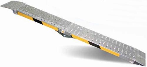 Rampe di carico pieghevoli in alluminio pz 2 h 35 for Rampe pieghevoli alluminio