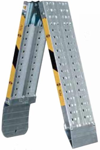 rampe di carico pieghevoli in alluminio pz 2 h 35 mm