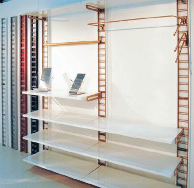 Ripiano weng cm 60x40 per mensole per espositori for Scaffali in legno componibili